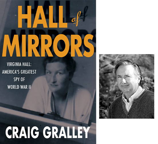 Hall of Mirrors book cover and Craig Gralley portrait
