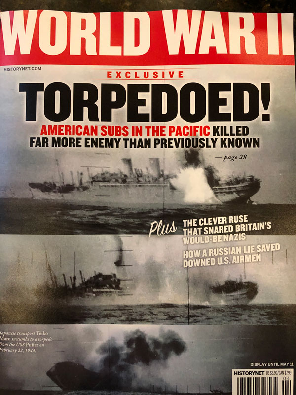 WWII Magazine Cover